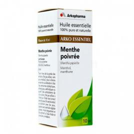 Arkopharma Huile Essentielle de Menthe Poivrée arkopharma Muscles et Articulations Onaturel.fr