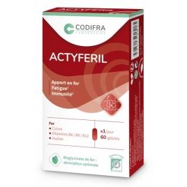 Actyferil 60 gélules Codifra codifra Femme enceinte / Allaitement Onaturel.fr