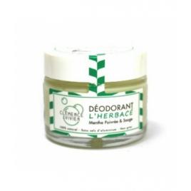 Clemence & Vivien Baume déodorant L'Herbacé 50g Clemence & Vivien Déodorants Bio Onaturel.fr