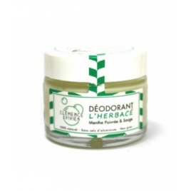 Clémence et Vivien baume déodorant L'Herbacé 50gr Onaturel