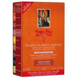 Henné Color Poudre colorante végétale Auburn Passion 100gr Henné Color Accueil Onaturel.fr