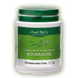 Emile Noel Huile de Bourrache bio 200 capsules dosées à 515mg