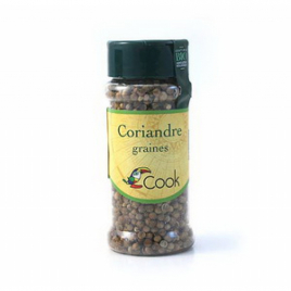 Cook Coriandre graines 30g Cook Herbes Aromates bio Onaturel.fr