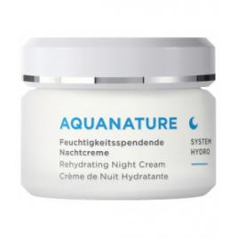 Anne Marie Borlind Aquanature Crème de nuit hydratante 50ml Anne Marie Borlind Soins de nuit Bio Onaturel.fr