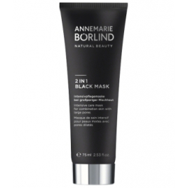 Anne Marie Borlind Beauty Mask Masque de soin intensif pour peaux mixtes avec pores dilatés 2 in 1 Black 75ml Anne Marie Borl...
