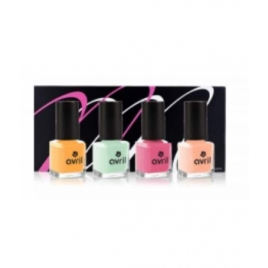 Coffret Mondebio Box vernis Pastel Candy Mondebiobox Cadeaux pour Elle Onaturel.fr