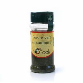 Cook Poivre vert en saumure 55g Cook Epices Bio Onaturel.fr