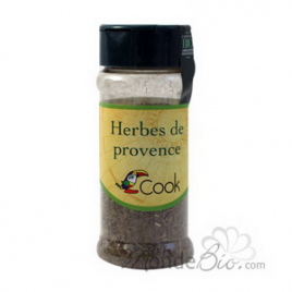 Cook Herbes de provence 20g Cook Herbes Aromates bio Onaturel.fr