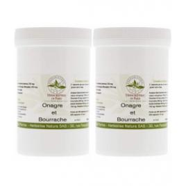 Herboristerie De Paris Huiles Bourrache Onagre lot de 2 X 220 capsules Herboristerie De Paris Compléments Alimentaires Bio On...
