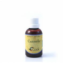 Cook Extrait de Cannelle 50ml Cook Extraits naturels bio Onaturel.fr