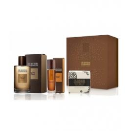 Les Senteurs Gourmandes Coffret amber oud eau de parfum 100 ml + vaporisateur nomade 15 ml + savon 100g Les Senteurs Gourmand...