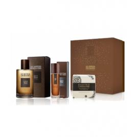 Les Senteurs Gourmandes Coffret black oud eau de parfum 100 ml + vaporisateur nomade 15 ml + savon parfumé 100g Les Senteurs ...