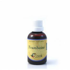Cook Extrait de framboise 50ml Cook Extraits naturels bio Onaturel.fr