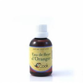 Cook Eau de fleur d'Oranger 50ml Cook Condiments Bio Onaturel.fr