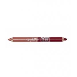 Purobio Cosmetics Duo crayon day : Kajal Laiton + Fard à paupière Ginger 2.8g