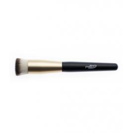 Purobio Cosmetics Pinceau kabuki à base plate 03 Fond de teint liquide ou compact