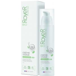 Royer Crème visage anti âge et réparatrice à la bave fraîche d'escargot 50ml Royer Accueil Onaturel.fr