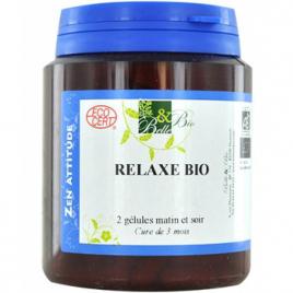 Belle et Bio Complexe Relaxe bio 200 gélules 62g Belle et Bio Immunité Onaturel.fr