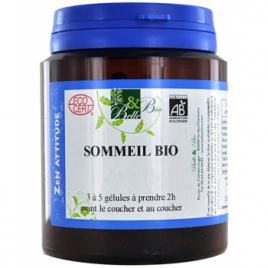 Belle et Bio Sommeil bio 200 gélules Belle et Bio Anti-stress/Sommeil Onaturel.fr