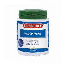 Super Diet Mélatonine 120 gélules 230mg Super Diet Accueil Onaturel.fr
