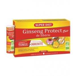 Super Diet Ginseng Protect de Sibérie + 1 Tube Acérola Bio Super Diet Accueil Onaturel.fr
