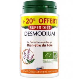 Super Diet Desmodium Bio 90 gélules + 18 gélules offertes Super Diet Accueil Onaturel.fr