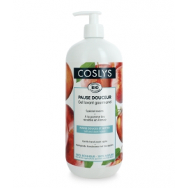 Coslys Crème lavante mains douceur pommes récoltées en France 1L Coslys Accueil Onaturel.fr