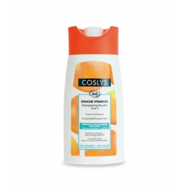 Coslys Shampoing Douche Pamplemousse Bio 250 ml