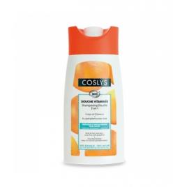 Coslys Shampoing Douche Pamplemousse Bio 250 ml Coslys Shampooings Bio et Soins capillaires Onaturel.fr