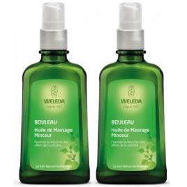 Weleda Duo Huiles de massage minceur bouleau 2x100ml le 2eme à moins 50%