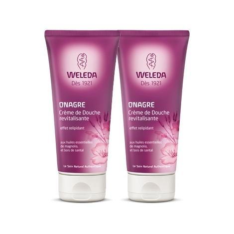 Weleda Duo Crème de Douche revitalisante à l'Onagre pour peaux matures 400ml Weleda Accueil Onaturel.fr