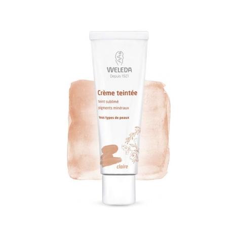 Weleda Crème teintée claire 30ml Weleda Accueil Onaturel.fr