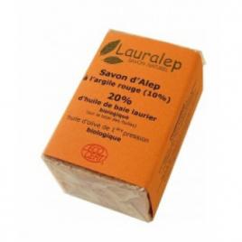 Lauralep Le savon d'Alep à l'Argile Rouge 150g