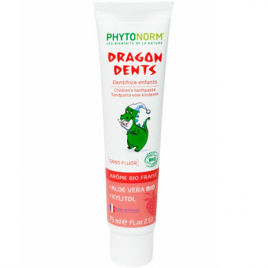 Phytonorm Dragondents fraise sans fluor 75ml Phytonorm Categorie temp Onaturel.fr