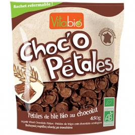 Vitabio Choc'o pétales céréales chocolat 450g Vitabio Accueil Onaturel.fr