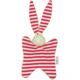 Keptin jr Doudou little toddel classic Fuchsia 17cm Keptin jr Accueil Onaturel.fr