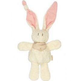 Keptin jr Doudou Lapin Tjumm Natural Brown 22 cm Keptin jr Accueil Onaturel.fr