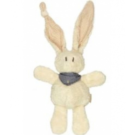 Keptin jr Doudou Lapin Tjumm Navy brown 22 cm Keptin jr Accueil Onaturel.fr