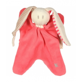 Keptin jr Doudou toddel corail 21 cm Keptin jr Accueil Onaturel.fr