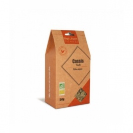 Nat et Form - Tisane Cassis Bio - 50 gr Nat et Form Infusions Bio Onaturel.fr