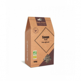 Nat et Form Tisane Sauge Feuille Bio - 100 gr Nat et Form Infusions Bio Onaturel.fr