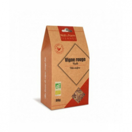 Nat et Form Tisane Vigne Rouge Feuille Bio - 80 gr Nat et Form Infusions Bio Onaturel.fr