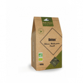 Nat et Form Tisane Détox Bio - 100 gr Nat et Form Infusions Bio Onaturel.fr