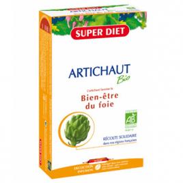 Super Diet Artichaut Bio 20 ampoules de 15ml Super Diet Categorie temp Onaturel.fr
