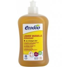 Liquide vaisselle écologique ultra dégraissant Menthe Vinaigre 500ml Ecodoo Produits Lave-vaisselle Bio Onaturel.fr