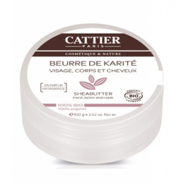 Cattier Mini Beurre de karité bio 20ml Cattier Soins hydratants Visage bio Onaturel.fr