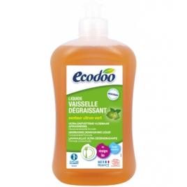 Liquide vaisselle dégraissant citron vert 500ml Ecodoo Produits Lave-vaisselle Bio Onaturel.fr