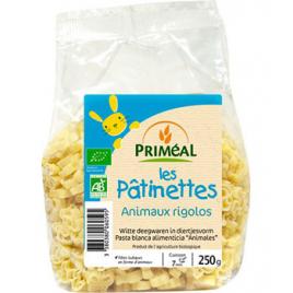 Primeal Les pâtinettes animaux rigolos 250g Primeal Accueil Onaturel.fr