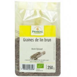 Primeal Graines de lin brun 250g Primeal Accueil Onaturel.fr
