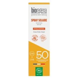 Bioregena Spray Solaire SPF50 90ml Bioregena Soins solaires Bio Onaturel.fr
